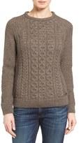 Barbour Women's Cable Knit Crewneck Sweater