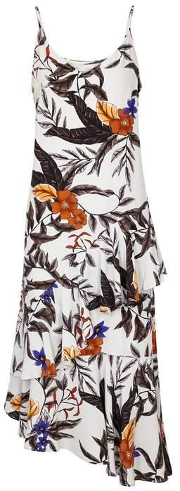 Gestuz Greye Floral-print Midi Dress