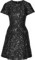 Markus Lupfer Constellation Irena jacquard mini dress