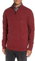 Rodd & Gunn Men's 'The Dasher' Quarter Zip Lambswool Sweater