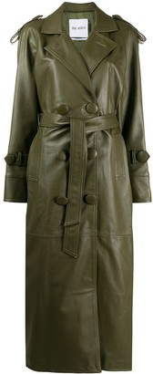 ATTICO Double Breasted Trench Coat