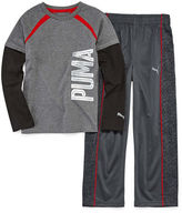 Puma 2-pc. Printed Pant Set - Preschool Boys 4-7