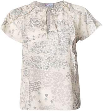 RED Valentino starry print top