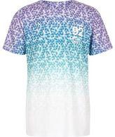 River Island Boys blue geo fade print T-shirt
