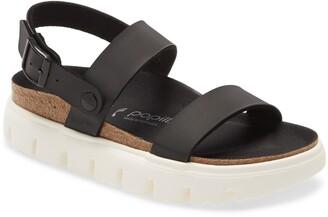 Birkenstock Cameron Birko-Flor Strappy Platform Sandal
