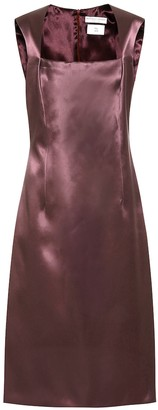 Bottega Veneta Satin midi dress