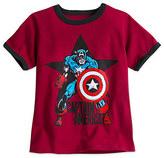 Disney Captain America Ringer Tee for Boys