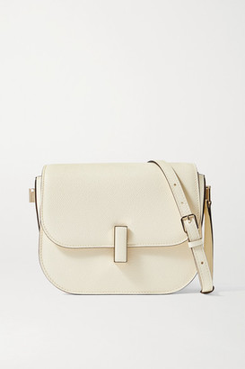 Valextra Iside Small Textured-leather Shoulder Bag - Cream