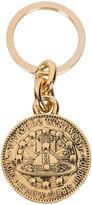 Vivienne Westwood 'Titania' key ring - unisex - Brass/Rhodium - One Size