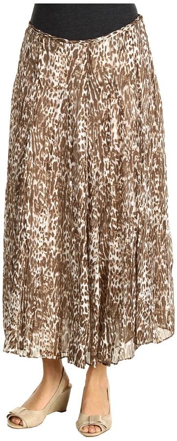 Jones New York Long Gored Skirt (Beechwood) - Apparel
