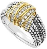 Lagos 'Diamonds & Caviar' Medium Diamond Ring