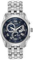 Citizen Bl8000-54l Calibre 8700 Eco-drive Bracelet Strap Watch, Silver/blue