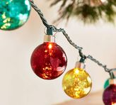 Pottery Barn Jewel Tone Mercury Glass String Lights