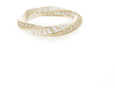 Vivienne Westwood Sterling Silver Rozalia Ring Gold Size XS