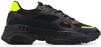 Tod's Chunky Suede Panel Sneakers