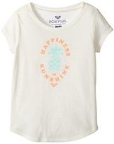 Roxy Kids - Happiness Sunshine Fashion Crew Girl's T Shirt