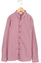 Dolce & Gabbana Boys' Gingham Button-Up Shirt