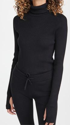 Reebok x Victoria Beckham Knitted Roll Neck Top