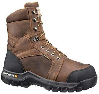 "Carhartt 8"" Men's Waterproof Composite Toe Internal Metatarsal Guard CMF8720 Work Boot"