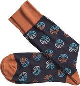 Johnston & Murphy Spirals Socks