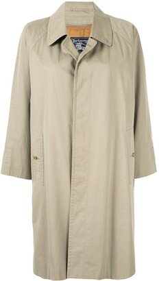 Burberry Pre-Owned Straight Buttoned Coat