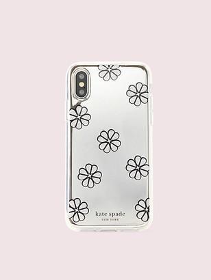 Kate Spade Mirror Spade Clover Toss Iphone Xs Case