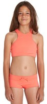 Billabong Girl's Sol Searcher Two-Piece Swimsuit