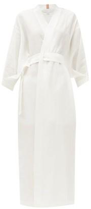 Lunya - Resort Linen-blend Robe - White
