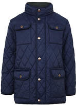 John Lewis Boys' Quilted Jacket, Navy