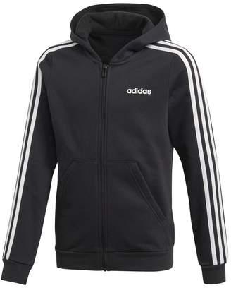 adidas Cotton Mix Track Jacket, 7-15 Years