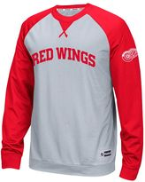 Reebok Men's Detroit Red Wings Finished Raglan Tee