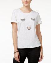 SHIFT Juniors' High-Low Graphic T-Shirt