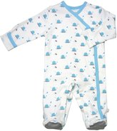 Baby Soy Organic Cotton Pattern Footie (Baby) - Whale-6-12 Months