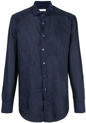 Etro Slim Fit Patterned Shirt