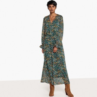 La Redoute Collections Floaty Floral Print Maxi Dress