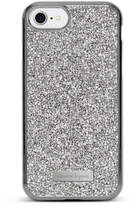Nanette Lepore iPhone 7 Silver Crystal Case