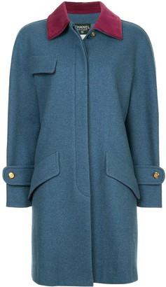 Chanel Pre Owned Boxy Midi Coat