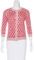 Kate Spade Patterned Knit Cardigan