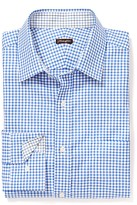 J.Mclaughlin Gramercy Classic Fit Shirt In Gingham