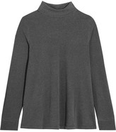The Great The Turtle Neck Stretch-jersey Sweater - Dark gray