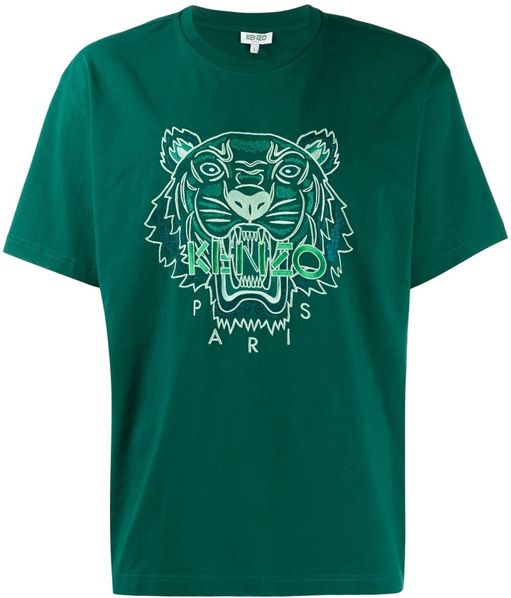 a42b09e4 embroidered tiger T-shirt