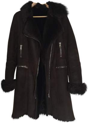 Ventcouvert Brown Fur Coat for Women