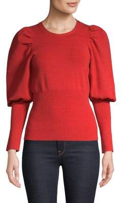 C/Meo Cmeo Collective Puffed-Sleeve Top