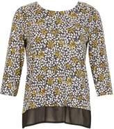 Izabel London Floral 34 Sleeve Blouse