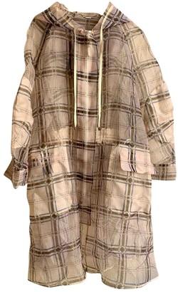 Fendi Beige Coat for Women