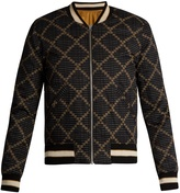 Etoile Isabel Marant Dabney reversible cotton bomber jacket