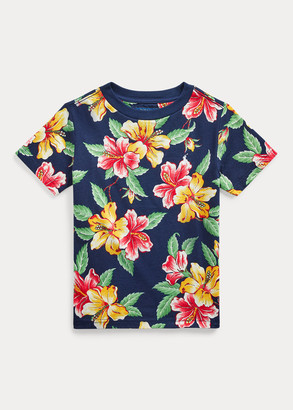 Ralph Lauren Floral-Print Cotton Jersey Tee