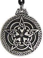 Pepi Celtic Knot Pentacle for Protection Wiccan Necklace Jewelry Pagan Irish Pendant