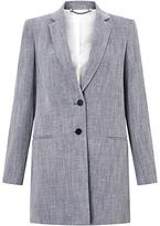 Jigsaw Linen Blend Twill Coat