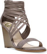 Fergalicious Hunter Wedge Strappy Sandals